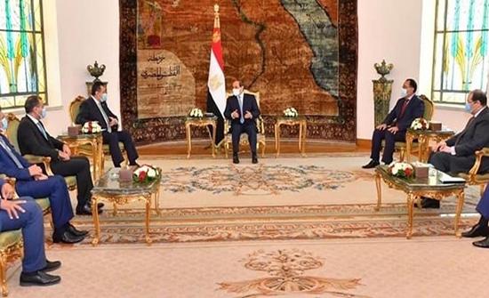 السيسي: مصر تدعم أمن واستقرار اليمن وحكومته الشرعية