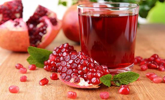 عصير الرمان يحافظ على صحة دماغ الجنين