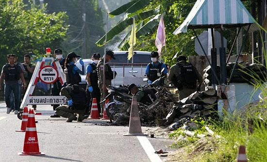 مصرع 15 شخصا في هجوم جنوب تايلاند