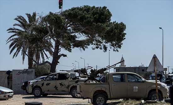 الجيش الليبي يرصد هبوط طائرة عسكرية لمليشيا حفتر في سرت