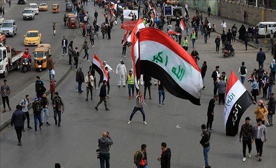 """تجدد الاحتجاجات في """"واسط"""" مطالبة باستقالة المحافظ بالعراق .. بالفيديو"""
