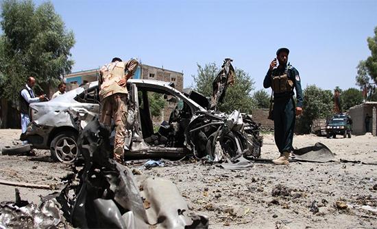 مقتل 14 مدنياً في انفجار وسط أفغانستان