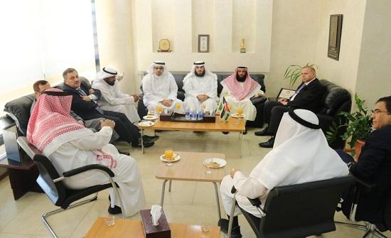 """""""عمان العربية"""" ووفد كويتي يبحثان التعاون الأكاديمي - صور"""