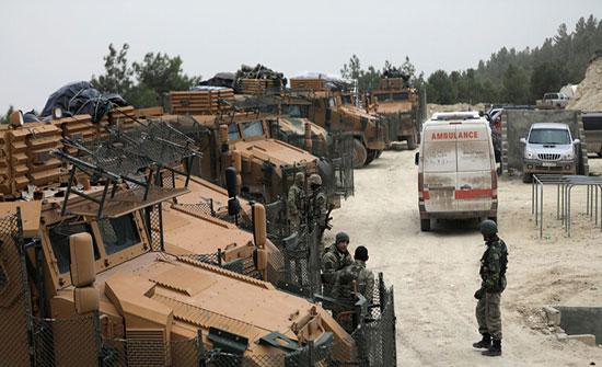 """بالفيديو : أنباء عن هجوم تركي على أحد مواقع """"قوات سوريا الديمقراطية"""" في محافظة الحسكة"""
