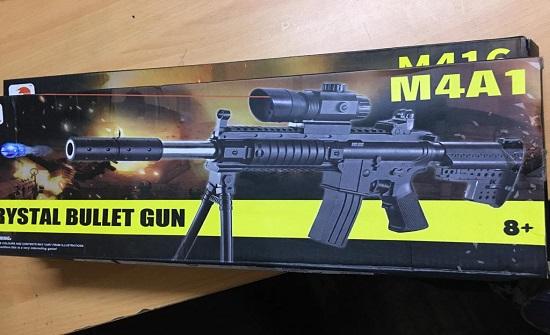 الجمارك : احباط تهريب مسدسات وبنادق خرز