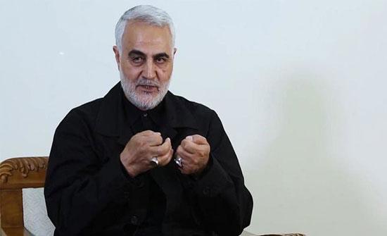طيار إيراني: سليماني اخترق تفتيشاً بمطار بغداد