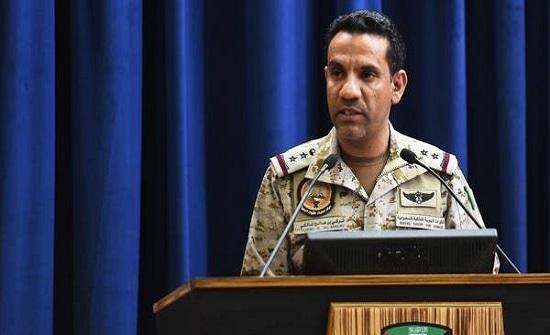التحالف : الصواريخ الحوثية تهدد العالم بأسره