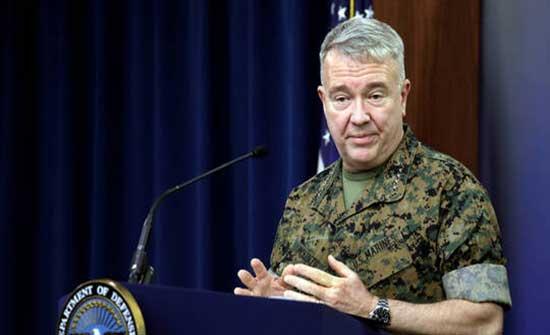 ماكينزي : نحن في منتصف طريق الانسحاب من أفغانستان
