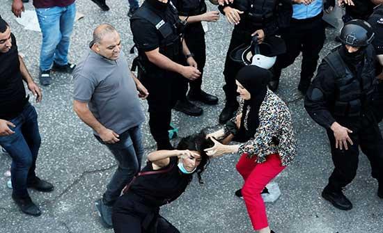 واشنطن: منزعجون من استعمال الأمن الفلسطيني العنف ضد محتجين وصحفيين