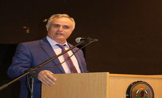 رئيس جامعة الحسين بن طلال يرعى حفل استقبال الطلبة الجدد