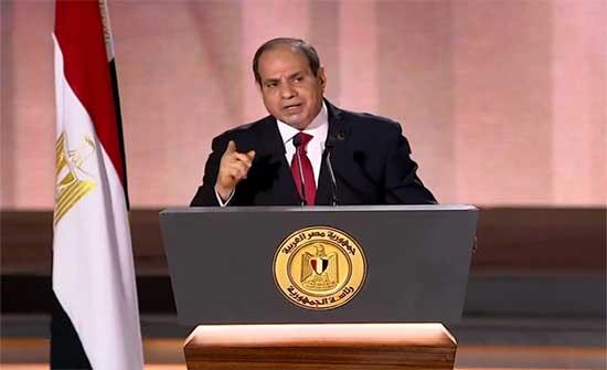 السيسي يحذر من المساس بأمن مصر ويدعو إثيوبيا والسودان لإبرام اتفاق قانوني ملزم