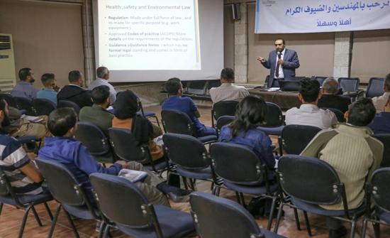 """مهندسو الزرقاء يعقدون ورشة تدريبية بعنوان """"إدارة المخاطر حسب ايزو 31000"""""""