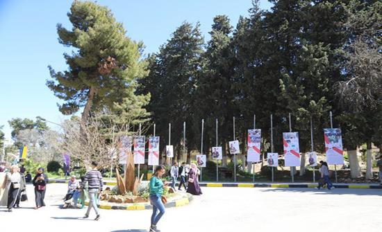 """أجواء ديمقراطية تسود مشاهد الدعاية الانتخابية لطلبة اتحاد """"الأردنية"""""""