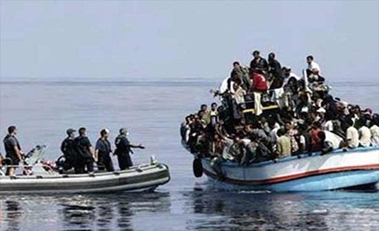ضبط 88 شخصا كانوا يعتزمون الهجرة سرا إلى إيطاليا