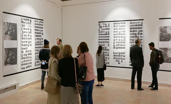 افتتاح معرض الفنانة الفوتغرافية الاسبانية اليبوث