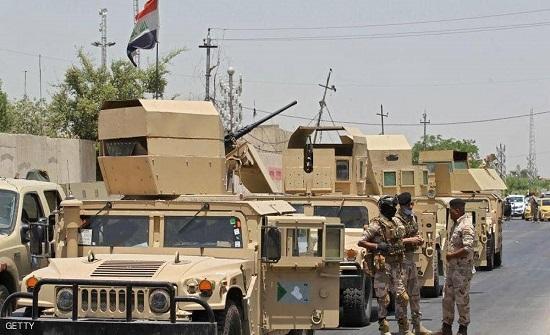 العراق: مقتل ارهابي حاول العبث بأمن الانتخابات التشريعية