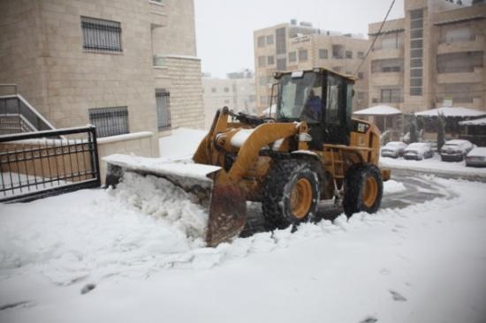 الرحامنة : سماكة الثلوج في عمان بين 20 - 30 سم