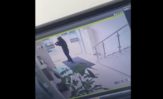 سطو مسلح على بنك في بيت لحم بالضفة الغربية (فيديو)