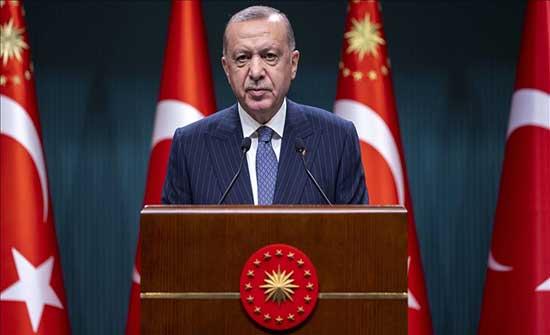 """أردوغان: """"بي كا كا"""" عاجزة عن التحرك بفضل عملياتنا"""