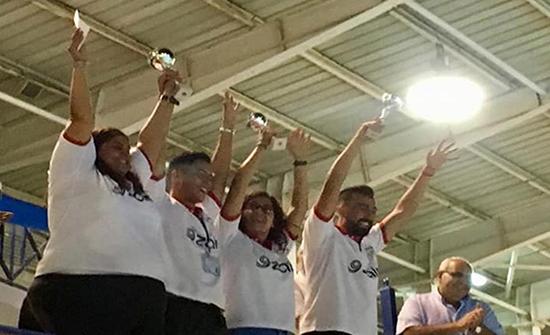 الارثوذكسي يظفر بلقب بطولة الاندية الاردنية للسباحة 2019