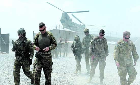 البنتاغون: الانسحاب الأمريكي من أفغانستان أنجز بنسبة 16% على الأقل