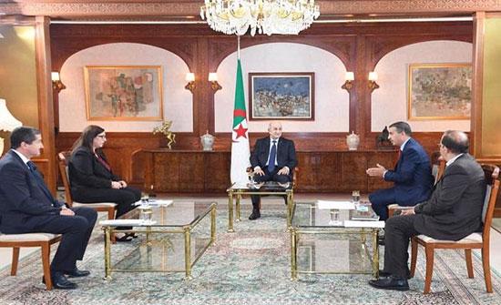 تبون: ليبيا تتجه للسيناريو السوري والحل ليس عسكريا
