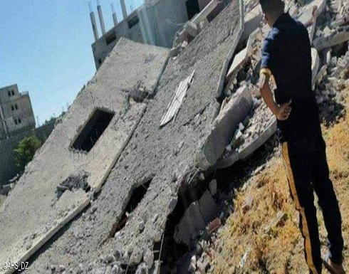 انهيار مبان وتضرر أخرى إثر هزتين أرضيتين شرقي الجزائر