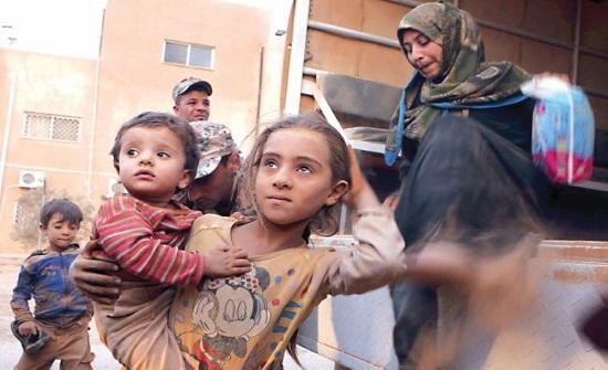 30 % من اللاجئين السوريين يتواجدون بعمان