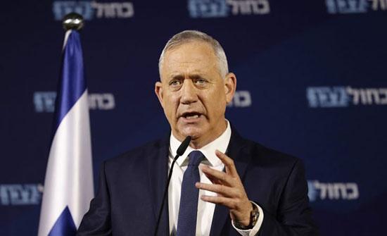 غانتس يدعو لتقوية علاقة إسرائيل مع الأردن ومصر