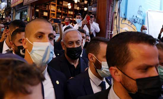 صحيفة: نتنياهو كان متواجدا في المنطقة التي سقط قربها الصاروخ الذي أطلق من غزة
