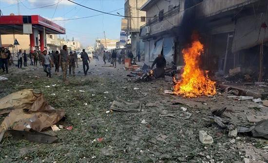 """مقتل 3 مدنيين في تفجير مفخخة بـ""""رأس العين"""" السورية"""
