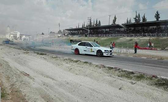 51 سائقا من الاردن وفلسطين يشاركون في سباق السرعة الرابع