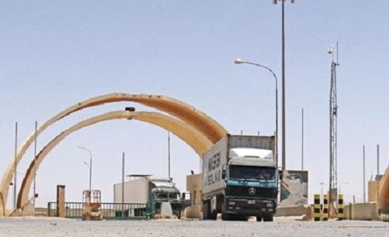 """الاستقرار الأمني يسهم في تحسن حركة """"الشحن"""" بين العراق والأردن"""