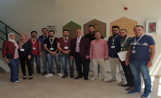 """طلبة """"هندسة عمان العربية"""" يشاركون في برنامج بريطاني لرفع قدراتهم التكنولوجية"""