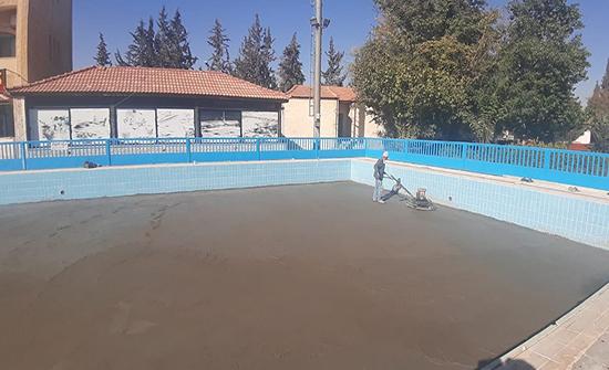 تنفيذ صيانة شاملة لمرافق نادي مدينة الأمير محمد للشباب بالزرقاء