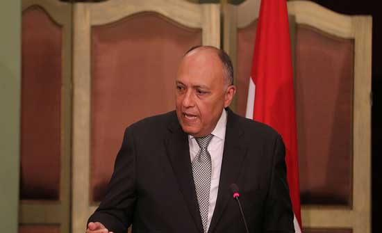 وزير الخارجية المصري يتجه إلى بيروت حاملا رسالة من السيسي إلى عون