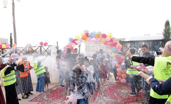 المفرق: هيئة شباب كلنا الاردن تقيم حفل افطار للأيتام والمتطوعين