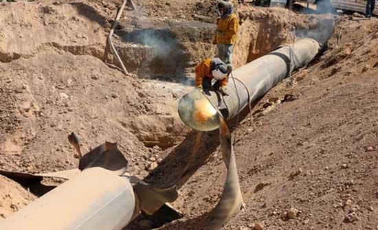 سوريا: عودة خط الغاز العربي للعمل بعد تعرّضه لاعتداء