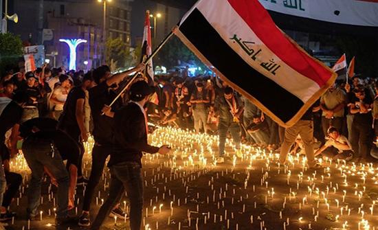 احتجاجات العراق.. حشود غير مسبوقة في الأسبوع الثاني (شاهد)