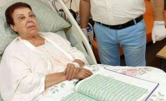 """مستشفى أبوخليفة: """"حالة رجاء الجداوي بيد الله وحده"""""""