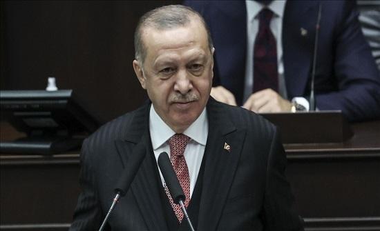 أردوغان: نخوض نضالا ضد مثلث الشر في الاقتصاد