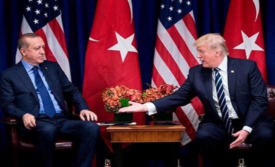 """أردوغان وترامب يبحثان """"المنطقة الآمنة"""" ويقرران اللقاء بواشنطن"""