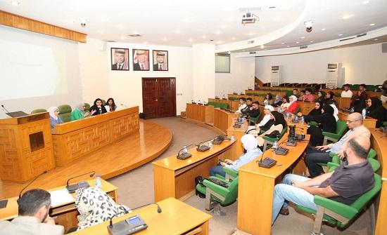 """المجلس الأعلى للأمومة والطفولة """"الأماراتي"""" يزور أمانة عمان"""