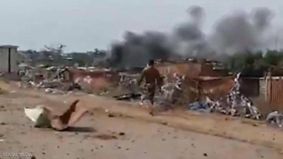 كارثة غينيا الاستوائية بالفيديو.. انفجارات ومئات الضحايا