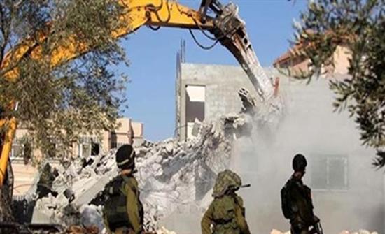 الاحتلال يخطر اصحاب ثلاثة منازل جنوب بيت لحم بوقف البناء