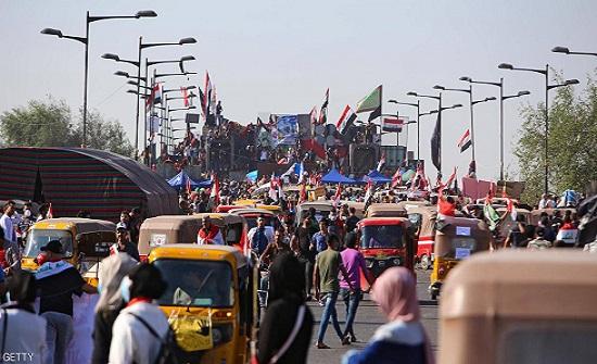 """""""معركة الجسور"""" في بغداد.. تحذير حكومي وتحد شعبي"""