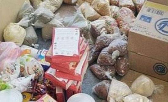 ضبط سيارة محملة بمواد غذائية فاسدة في عجلون
