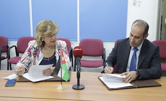 اتفاقية تعاون بين جمعية الحسين ومؤسسة نور الحسين