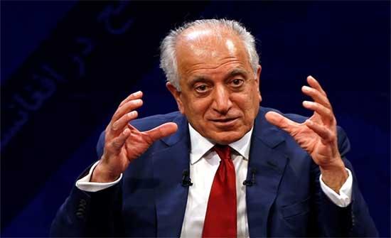 خليل زاد: الانسحاب الأميركي الكامل من أفغانستان يجب أن يسبقه اتفاق بين الحكومة وطالبان