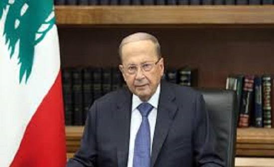 عون: تشكيل حكومة جديدة سيساعد اصدقاء لبنان على دعمه بمشاريع انمائية